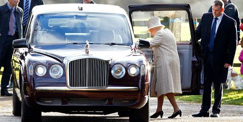 Queen Elizabeth's Bentley