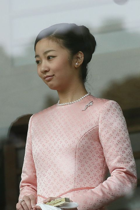 tokyo, japan   january 02  princess kako attends the celebration for the new year on the veranda of the imperial palace on january 2, 2015 in tokyo, japan  photo by ken ishiigetty images