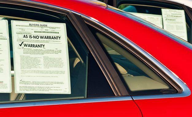warranty on used car