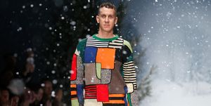 Moschino: Runway - London Collections: Men AW15
