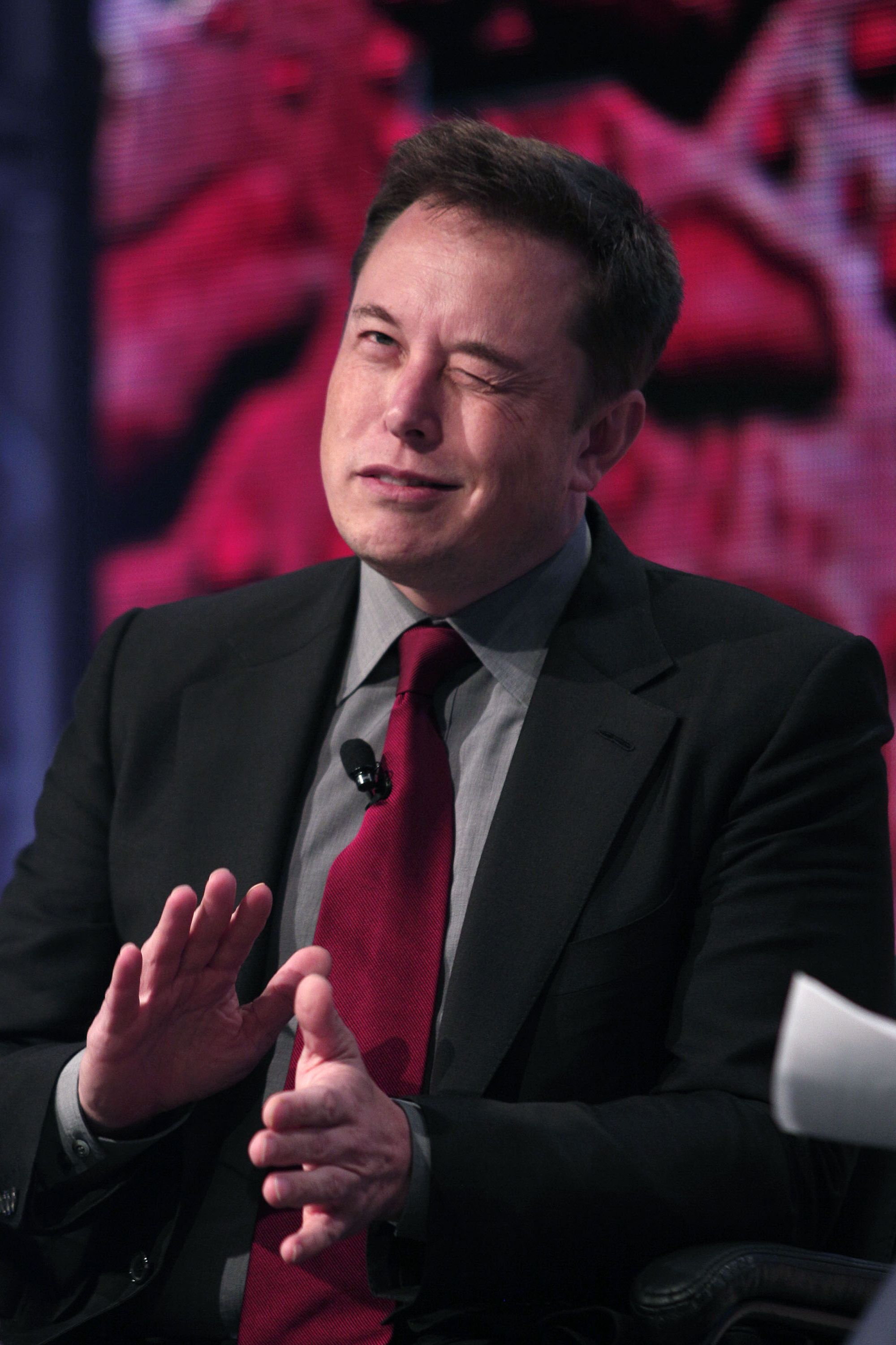 Elon Musk once accidentally went to a sex party.