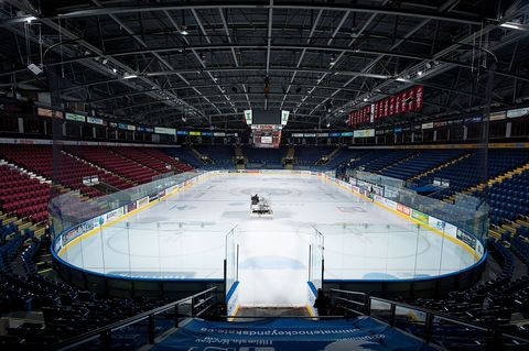 kelowna, canada january 14 the zamboni makes its way across the ice surface prior to the game between the kelowna rockets and the tri city americans on january 14, 2015 at prospera place in kelowna, british columbia, canada photo by marissa baeckergetty images