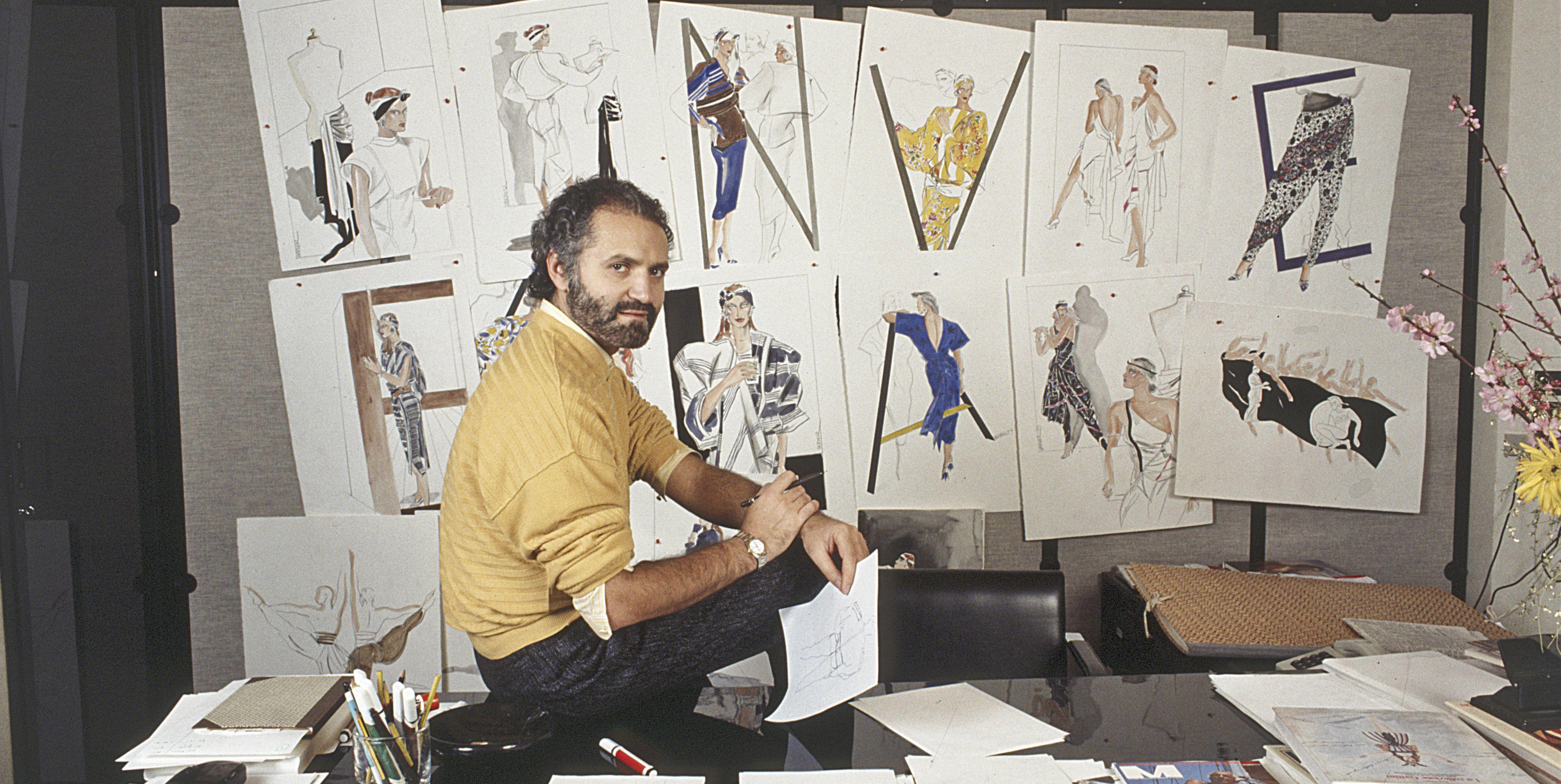 Gianni Versace's Secret Moments