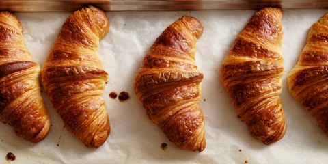 Croissant, Food, Viennoiserie, Baked goods, Dish, Cuisine, Pastry, Pastizz, Kifli, Ingredient,