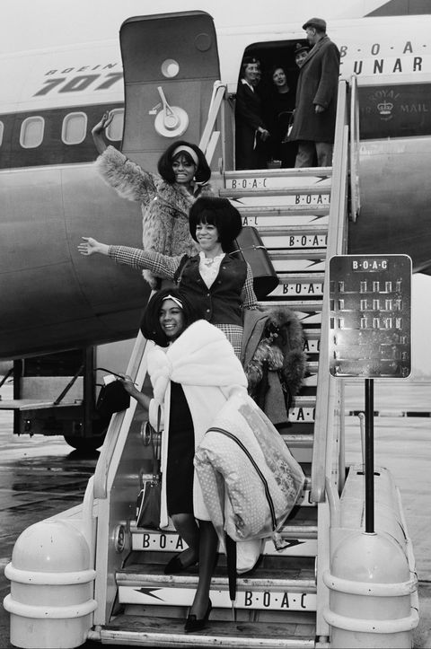 The Supremes Arrive In London