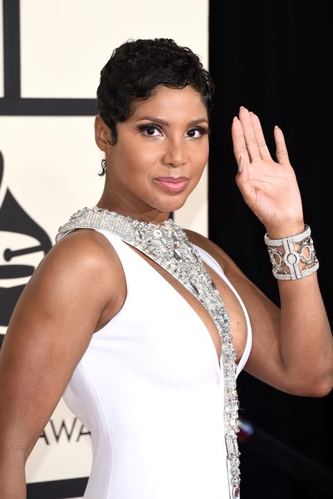 los angeles, ca   february 08  recording artist toni braxton attends the 57th annual grammy awards at the staples center on february 8, 2015 in los angeles, california  photo by jason merrittgetty images