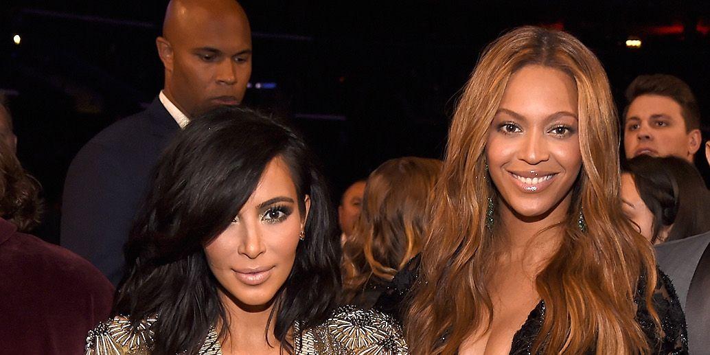 Kim Kardashian West Beyoncé Knowles Carter