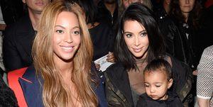 Beyonce Kim Kardashian