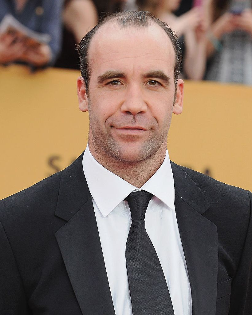 """Rory McCann (and beard) The 6'6"""" actor would have to continually shave half his face to match his character's description."""