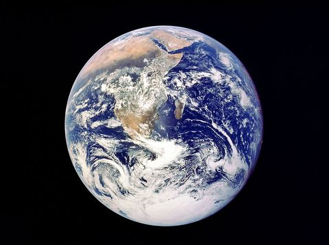 whole earth from space, viewed from apollo 17, december 1972 this was the first photograph of the south polar ice cap most of africa is visible, together with the arabian peninsular and madagascar credit arplnasa photo by ann ronan picturesprint collectorgetty images