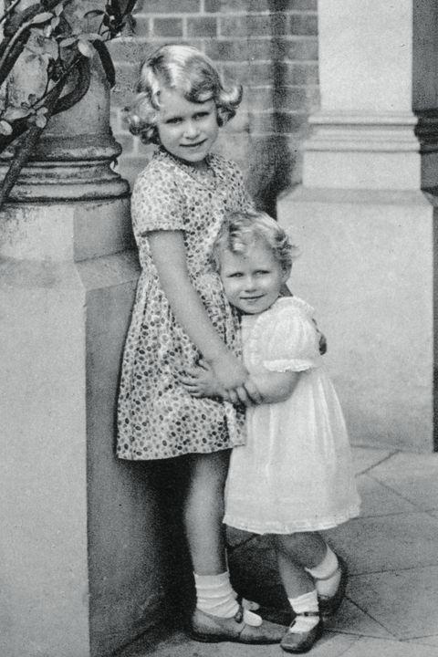 Princesses Elizabeth and Margaret Rose, 1932, (1937).