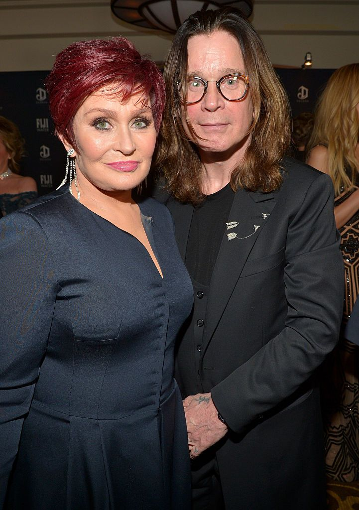 Sharon was Ozzy Osbourne's manager before they began dating.