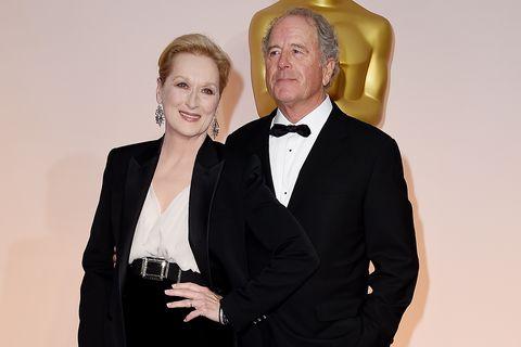 Meryl Streep with Don Gummer