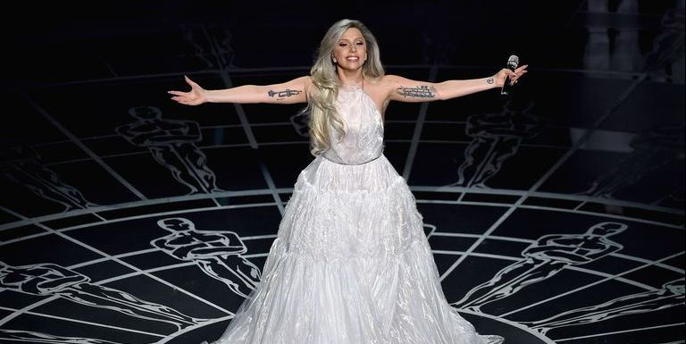Lady Gaga optreden Sound of Music Oscars 2015