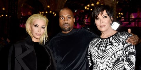 Kris Jenner speaks out over claims she's had 'explosive rows with Kanye West' over his tweets