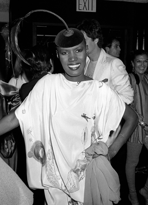 Grace Jones Sighted at New York New York Disco