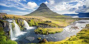 Kirkjufell, Islandia elle