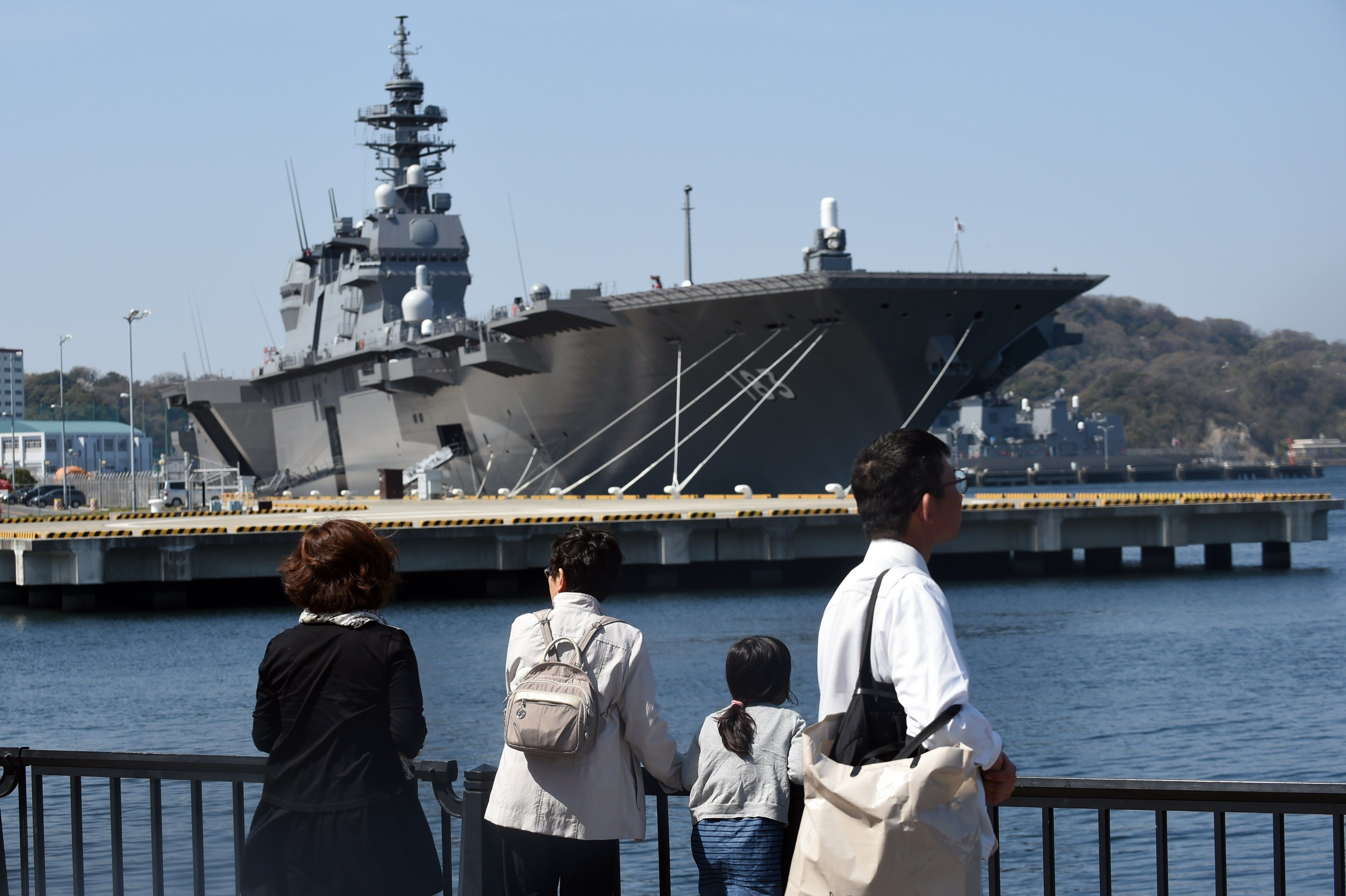 To Lure Recruits, Japan's Navy Is Turning To Free WiFi