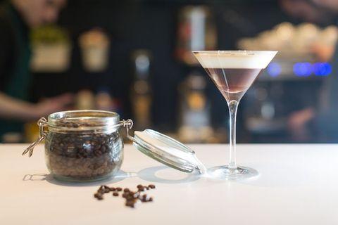 Gin espresso martini recipe
