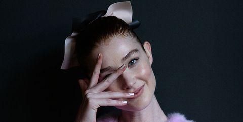 Face, Hair, Skin, Eyebrow, Beauty, Head, Lip, Ear, Nose, Pink,