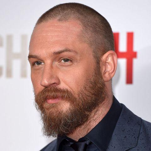 bald men beard styles