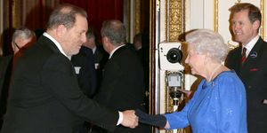 Harvey Weinstein And Queen Elizabeth II