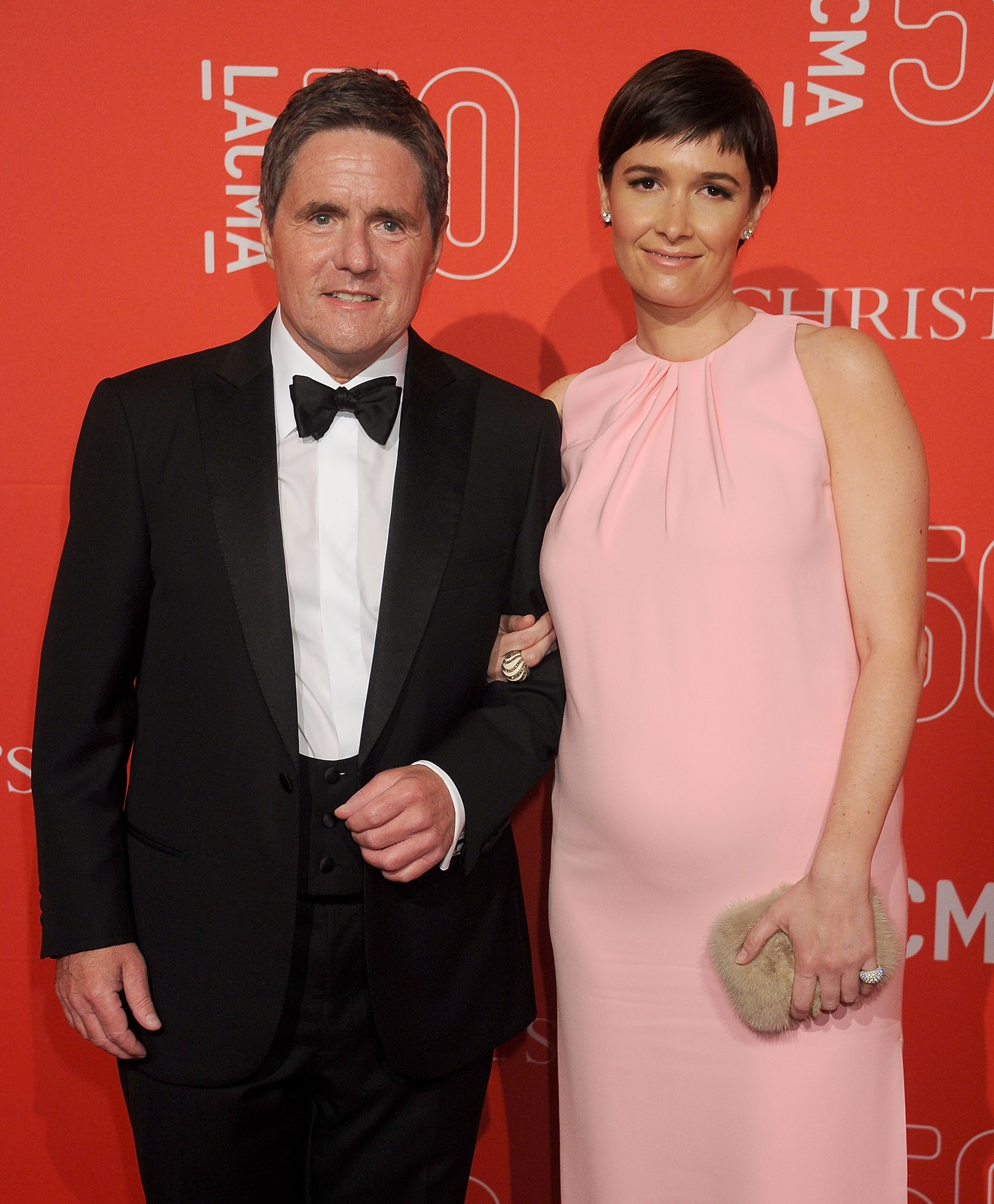 Cassandray Grey with her late husband, the former Paramount Pictures chairman Brad Grey.
