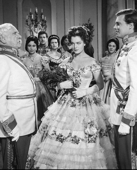 Karlheinz Boehm, Romy Schneider and Erich Nikowitz in Sissi - The young Empress