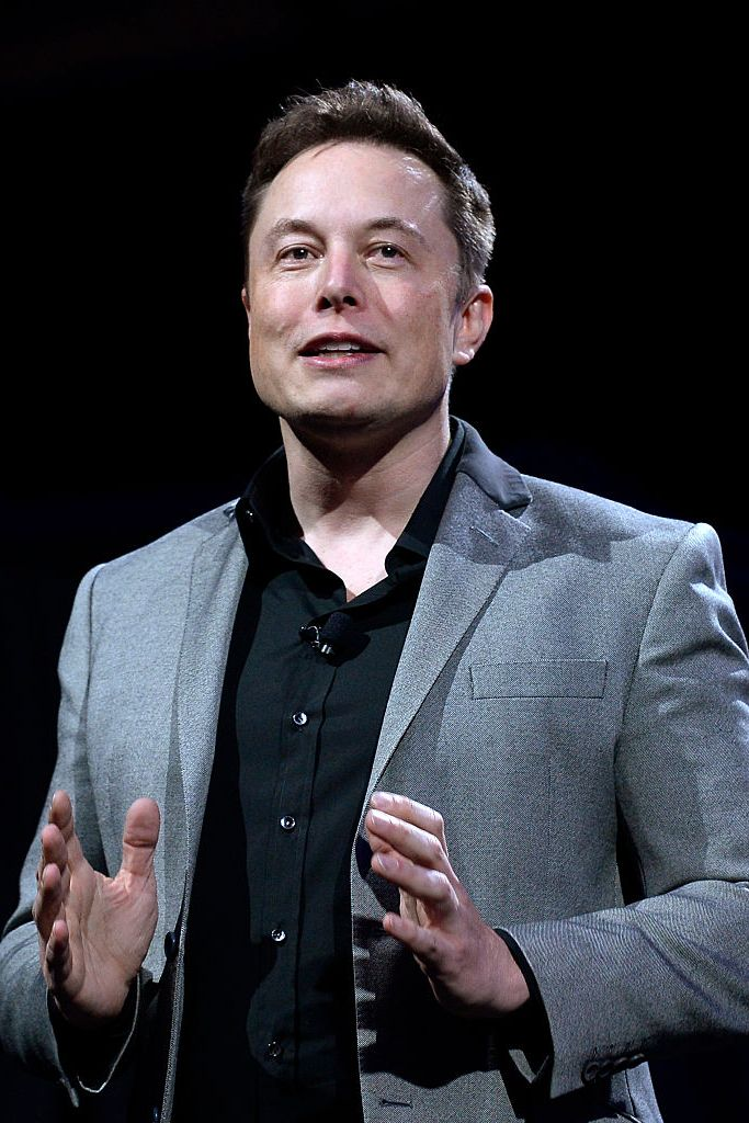 Elon Musk used to sleep on a couch.