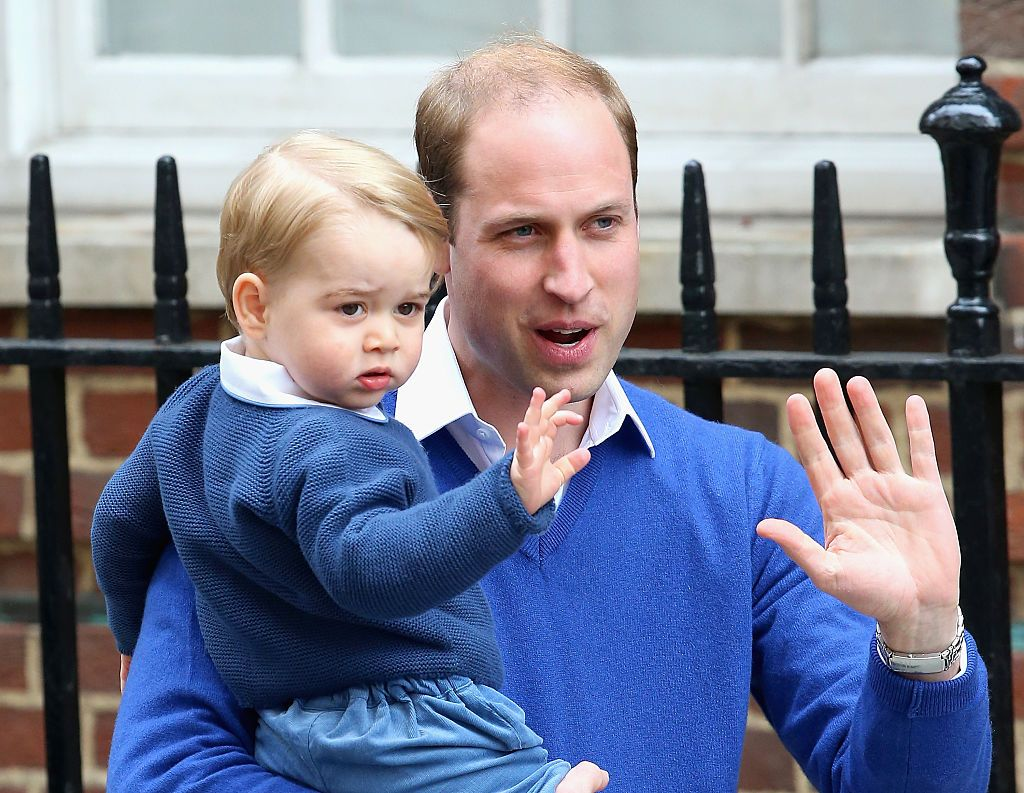 Prince William and Prince George's cutest father-son bonding moments