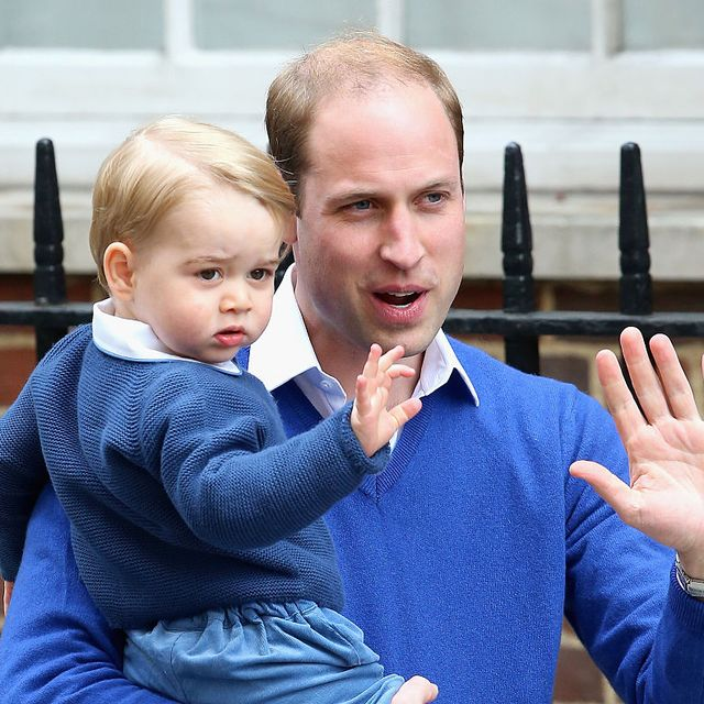 prince william and prince george's cutest father son moments