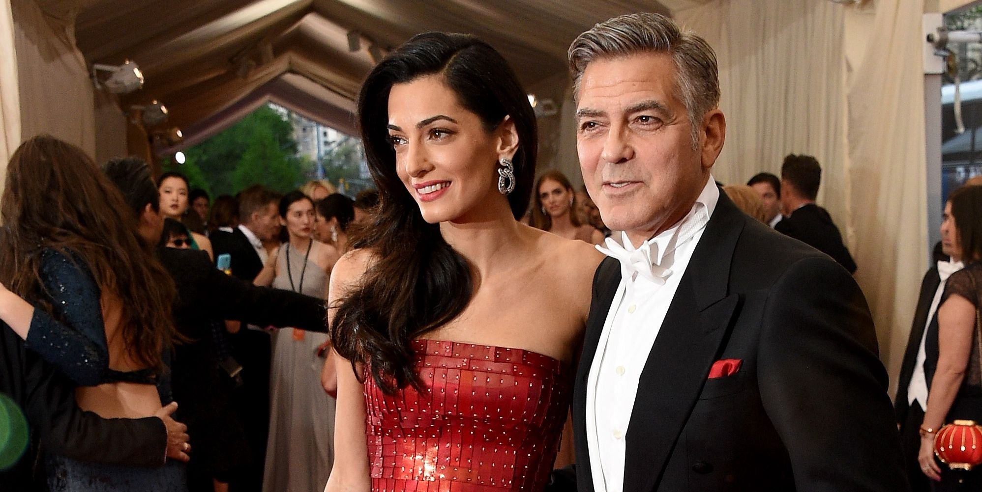 George and Amal Clooney Have Security Issues Amid Her ISIS Case