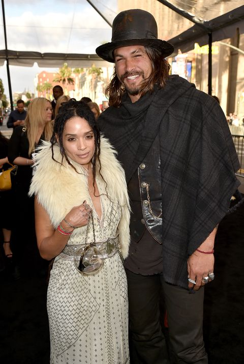 Jason Momoa marries Lisa Bonet, who is 11 years his senior