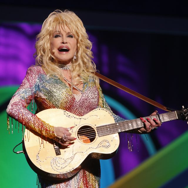 nbc universal events    2015 nbc upfront presentation    presentation to advertisers    pictured  dolly parton coat of many colors    photo by paul drinkwaternbcu photo banknbcuniversal via getty images via getty images