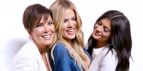 Khloe Kardashian Kris Jenner Kylie Jenner