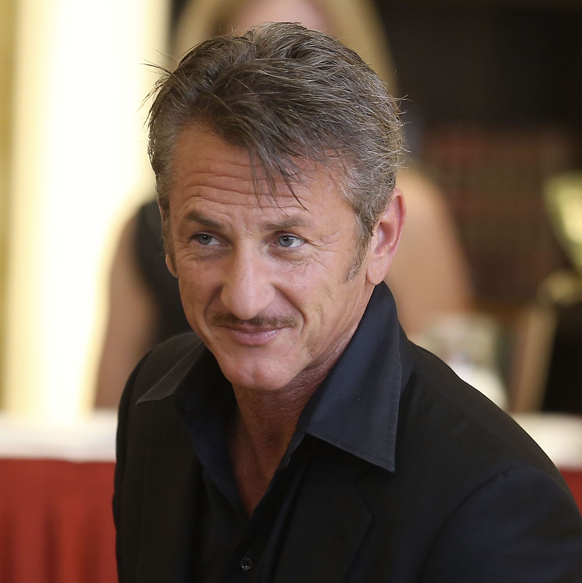 2001: Sean Penn A tiny, trimmed mustache became Penn's defining look in the early aughts.