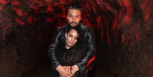 Jason Momoa marries Lisa Bonet, who is 11 years his senior