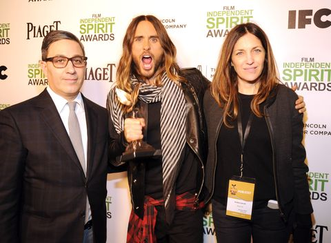2014 Film Independent Spirit Awards - Backstage And Audience