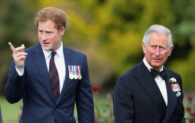 london, united kingdom   june 09 embargoed for publication in uk newspapers until 48 hours after create date and time prince harry and prince charles, prince of wales attend the gurkha 200 pageant at the royal hospital chelsea on june 9, 2015 in london, england photo by max mumbyindigogetty images