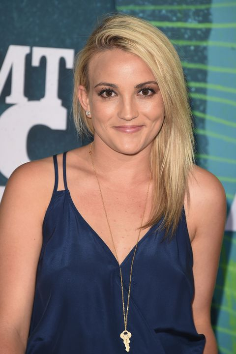 nashville, tn   june 10  jamie lynn spears attends the 2015 cmt music awards at the bridgestone arena on june 10, 2015 in nashville, tennessee  photo by jason merrittgetty images