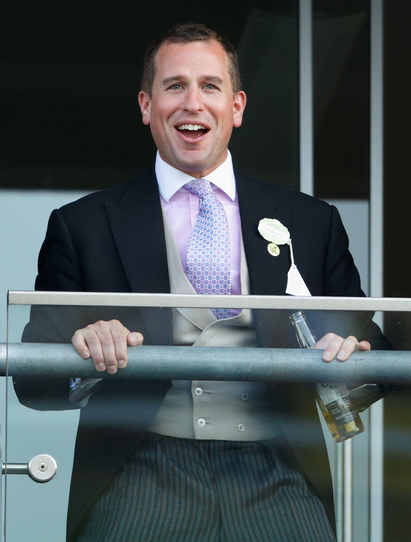 Help, the Queen's Grandson Peter Phillips Is Advertising Milk on TV
