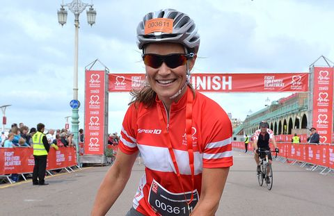 Pippa Middleton bike race