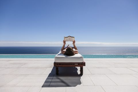 Blue, Sky, Furniture, Vacation, Sea, Sitting, Summer, Ocean, Outdoor furniture, Tourism,