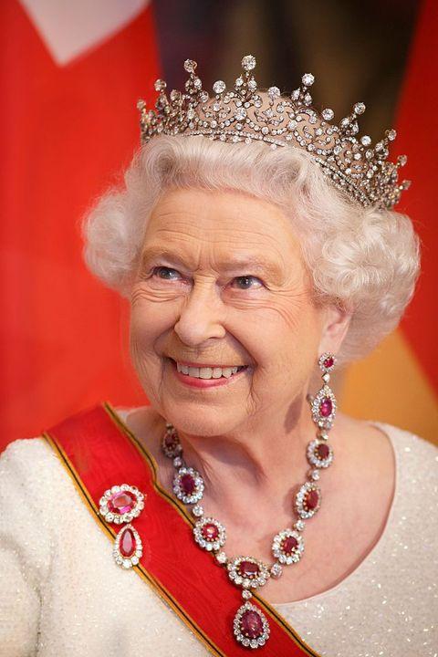queen elizabeth ii rubies