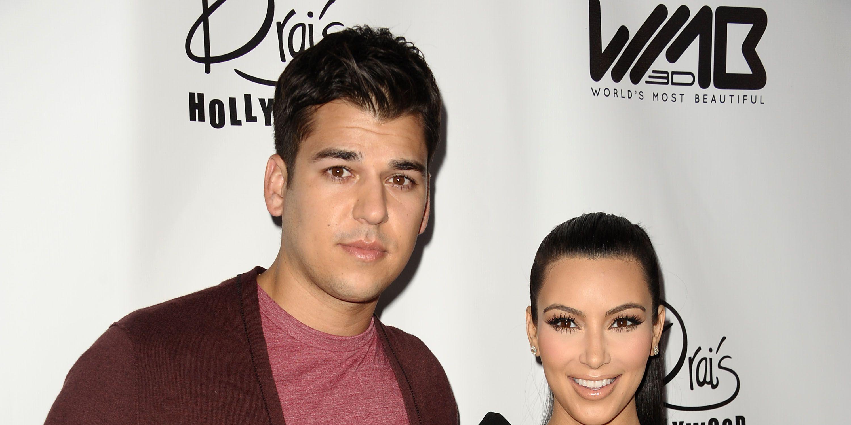 Kim Kardashian gives a rare update on how Rob Kardashian is doing