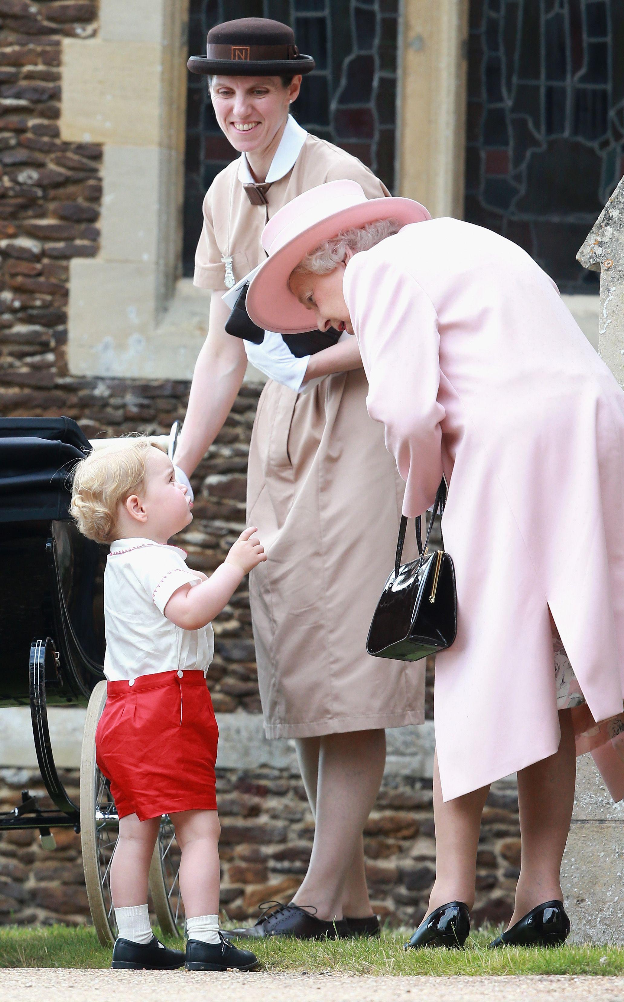 El bautizo de la princesa Charlotte de Cambridge
