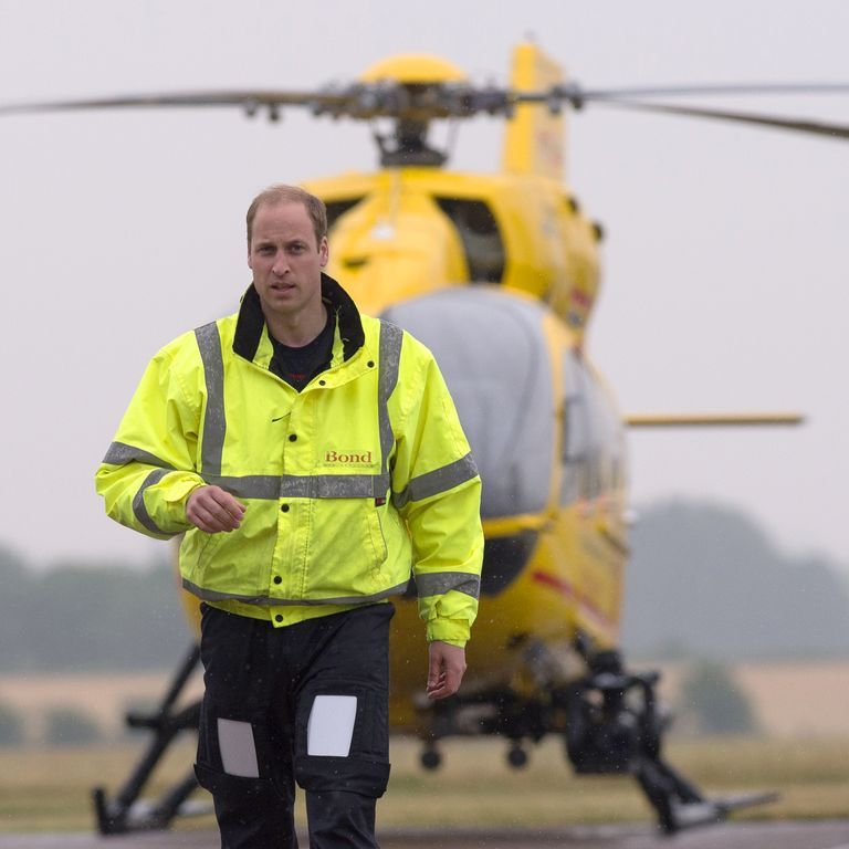 """Prince William Is """"Seriously Considering"""" Returning to Work as Air Ambulance Pilot Amid Coronavirus Pandemic"""