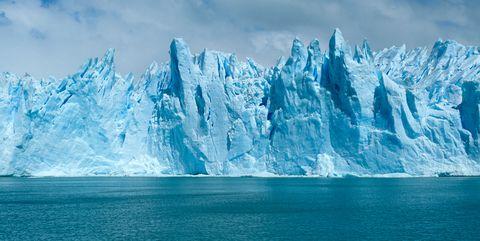 Polar ice cap, Natural landscape, Ice, Iceberg, Glacial lake, Arctic ocean, Sky, Glacier, Ocean, Ice cap,