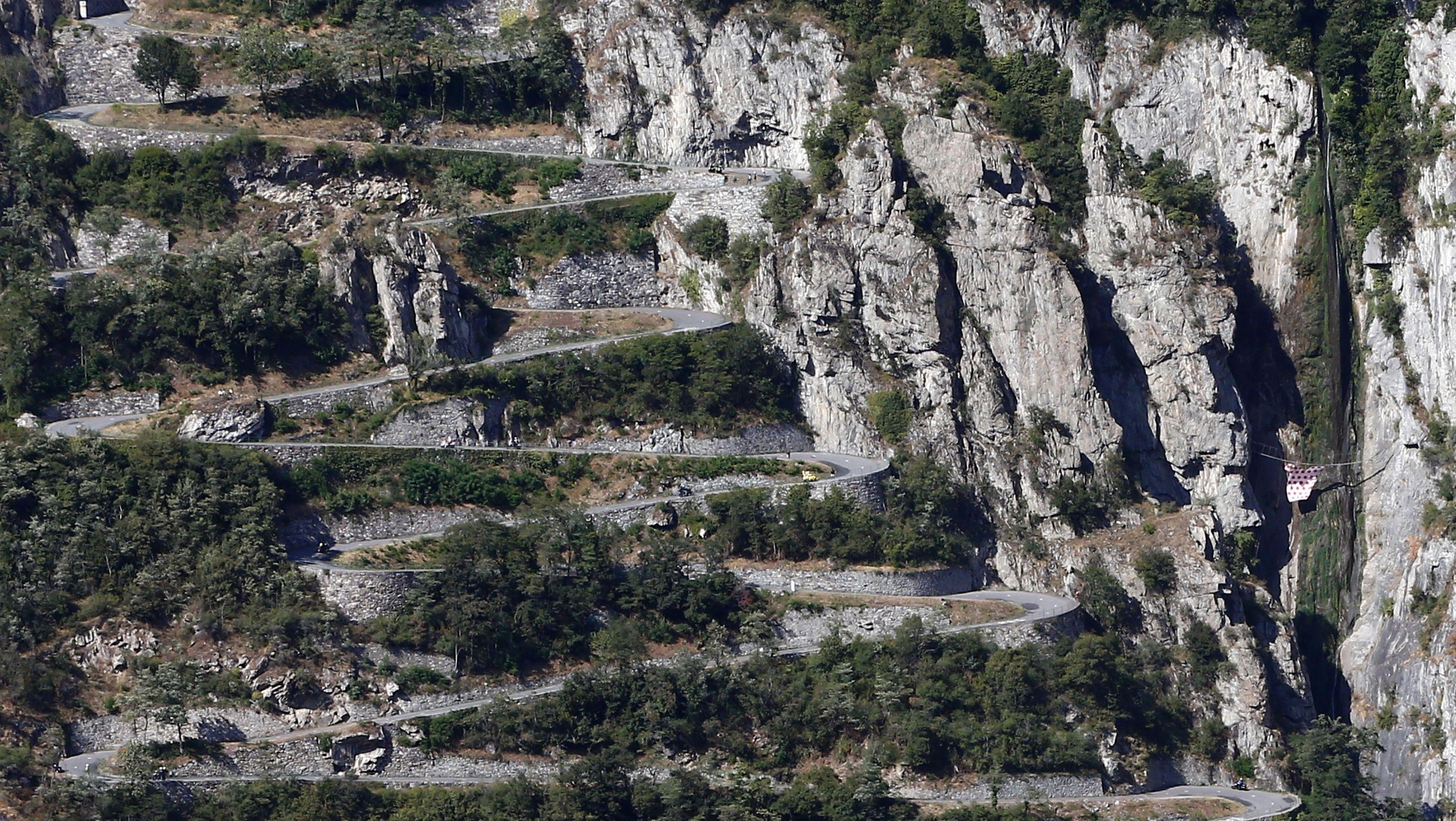 Bonificatie bij bergetappes