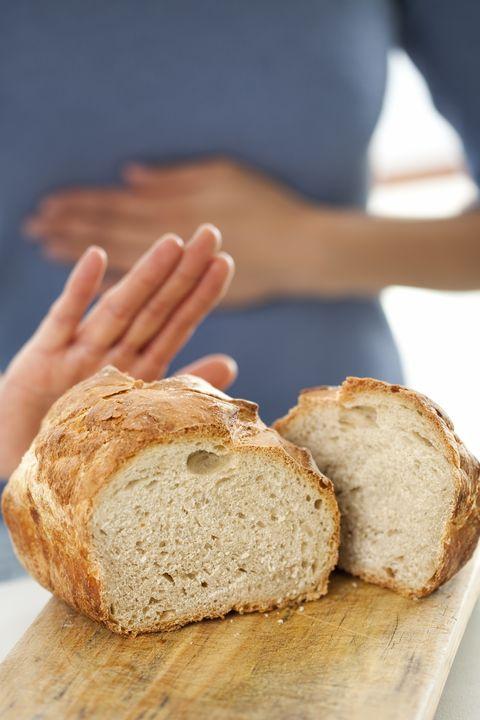 gluten free concept no bread, please